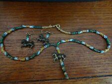 Necklace & Earrings Set Carousel Horse Handmade Beaded