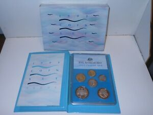 1993 RAM Royal Australia Mint Proof  Water is Life Landcare 6 Coin Set in folder