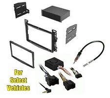 Car Stereo Radio Install Dash Trim Bezel Mount Face Kit Combo for select GM