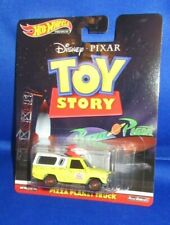 HOT WHEELS PREMIUM DISNEY PIXAR TOY STORY MOVIE COLLECTOR PIZZA PLANET TRUCK NEW