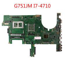 For ASUS G751JM GFX70JS Motherboard G751JM G751JS Mainboard W/i7-4710 GT860M