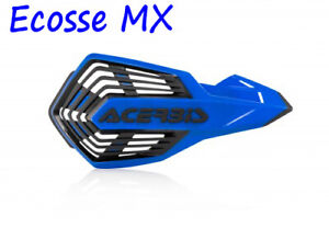 ACERBIS NEW X-FUTURE VENTED HAND GUARDS Blue/Black  Motocross YZ YZF WRF