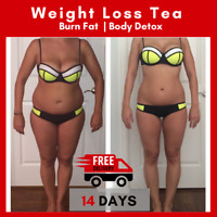 14 Day Slimming Herbal Detox Green Tea Weight Loss Burner Fat Skinny Teatox Diet