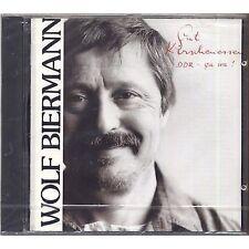 WOLF BIERMANN - Gut kirschenessen (DDR- Ca ira!) - CD 1990 FIRST PRESS SEALED