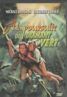 A La Poursuite Du Diamant Vert Dvd Michael Douglas Kathleen Turner