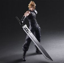 Play Arts Kai Final Fantasy VII 7 Remake Cloud Strife Action Figure New In Box
