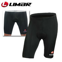Limar Sport Padded Cycling Shorts - Black - Sizes L , 3XL