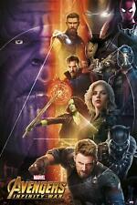 Avengers Infinity War Poster Charaktere 1 61 X 91 5 Cm