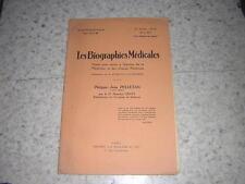 1934.philippe Pelletan / Genty.biographies médicales.médecine