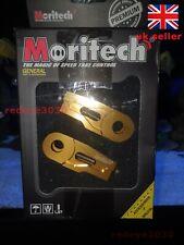Honda Monkey 125 CNC MORITECH CHAIN ADJUSTER UK SELLER - GOLD - NEW!! - HPY-MK21