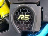 1x Ford Focus RS MK3 3D Gelemblem Inlay für den Luftfilterkasten