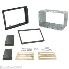 CITROEN RELAY 2006 to 2011 BLACK DOUBLE DIN FACIA ADAPTER PANEL FITTING KIT