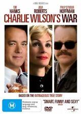 CHARLIE WILSON'S WAR DVD=TOM HANKS=REGION 4 AUSTRALIAN RELEASE=NEW AND SEALED