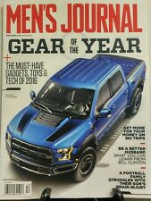 Men's Journal December 2016 Gear of the Year Ford F 150 Raptor FREE SHIPPING sb