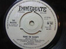 "The McCoys – Hang On Sloopy 1965 7"" Immediate IM 001"