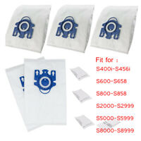 lots Vacuum Cleaner Bag+Filter For Miele 3D GN COMPLETE C2/C3 S2/S5/S8 10/20pcs