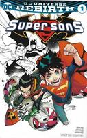 SuperSons 1 Variant C2E2 Retailer Summit Cover Rebirth DC FREE SHIP