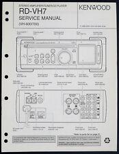 KENWOOD RD-VH7 Original Amplifier/Tuner/CD Service-Manual/Diagram/Partslist o198