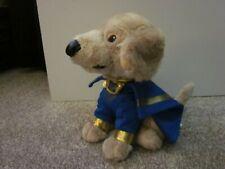 "Disney Super Buddies Budderball Puppy Dog 7"" Plush Stuffed Toy Blue Superhero"