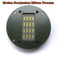 2PCS High Sensitivity Air Motion Neodymium Ribbon Tweeter 30W/60W(Max) 8Ω 98dB