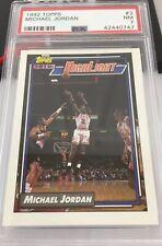 Michael Jordan 1992 Topps Highlight Card #3 Psa 7 Chicago Bulls