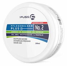 Hornhautcreme Mr. Fuss Pflegebalsam Plus No. 2 mit 10% Urea - 200ml Systempflege
