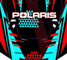 Polaris 4 RZR 900 xp Design Retro Decal Graphic Kit Wraps Hood Scoop