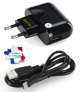 Chargeur Secteur Rapide 2A avec Câble USB Type C pour CROSSCALL