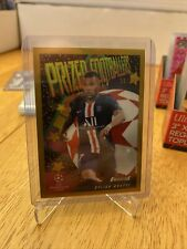 2019-20 topps finest champions league Kylian Mbappe Prized Footballers Gold /50