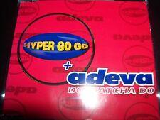 Hyper Go Go + Adeva – Do Watcha Do Australian Remixes CD Single – Like New