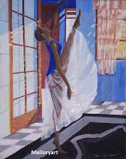 """Elegance & Beauty Limited Edition Art Print By Olu jimi Adeniyi"