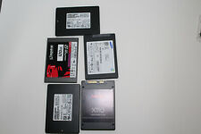 Lot 5 SATA 128GB SSDs (3) Samsung, (1) Sandisk & (1) Kingston (Note: 120GB)