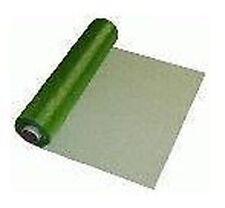 Pistacho Organza Transparentes Tela Rollo 29cm X 25m Boda