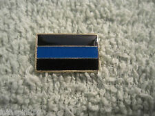 Thin Blue Line Cops Lapel/Tie Tack Hat Pin Police Pin