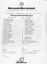 BL 87/88 Borussia Dortmund - Hannover 96 (PI)