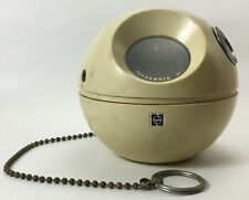 Panasonic R-70 Ball and Chain AM radio, white, solid state