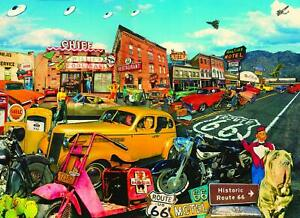 SUNSOUT INC Willie's Pool Hall 500+ pc Jigsaw Puzzle