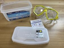 New listing Tusa Freedom Ceos Mask Scuba Diving, FreeDiving, Snorkeling Yellow M-212-FY