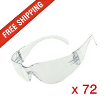 72 x Clear Safety Glasses Eye Protection Cobra, Texas and Force