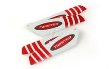 6605105 JP Helicopter Accessories Micro Twister Pro Rotor Blade Set (Red) New UK