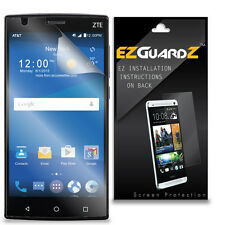2X EZguardz LCD Screen Protector Cover HD 2X For ZTE ZMax 2 Z958 (Ultra Clear)