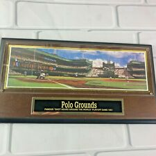 Polo Grounds New York Giants Baseball Stadium Collectors Plaque Brooklyn Dodgers