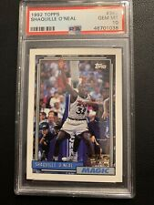 1992 Shaquille O'Neal Topps Shaq Rookie PSA 10 362