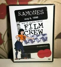 The Ramones We're Outta Here LA 1996 Concert Region Free Music DVD NEW & SEALED