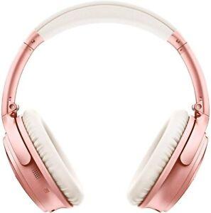 Bose QuietComfort 35II Noise Cancelling Wireless Headphones Rose Gold