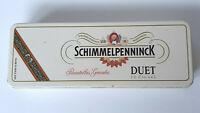 Schimmelpenninck Duet Cigar Tin Case Made in Holland Tobacco