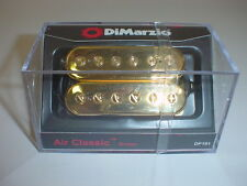 DIMARZIO DP191 Air Classic Bridge Guitar Pickup GOLD CAPS REGULAR SPACING