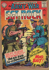 Our Army At War #161 - Sgt Rock Dead-End For A Dogface! - 1965 (Graded 5.0) WH