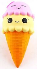 Squishy Extra Large Ice Cream Strawberry Pink Scented Slow Rising Toys UK 22cm