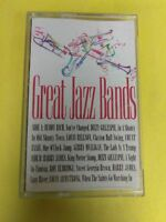 GREAT JAZZ BANDS Various Artists 3145202634 Cassette Tape